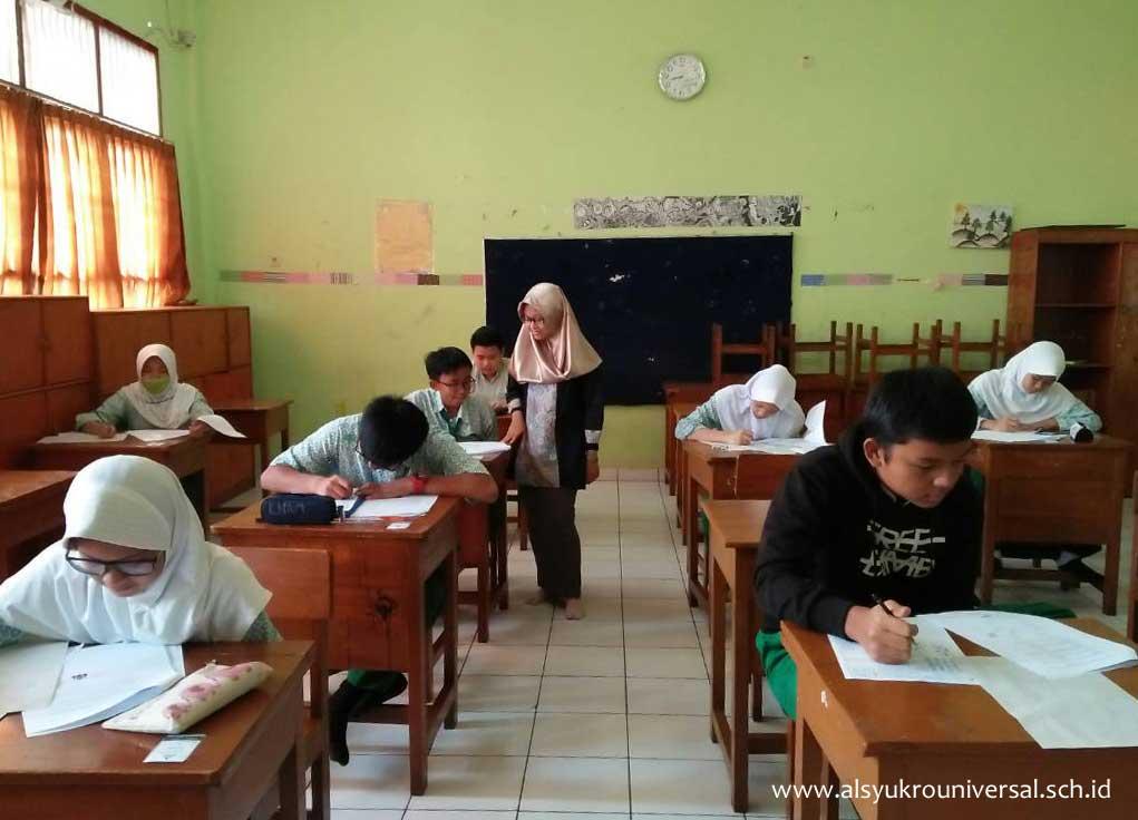 Pelaksanaan UKK di SMP Islam Al Syukro Universal