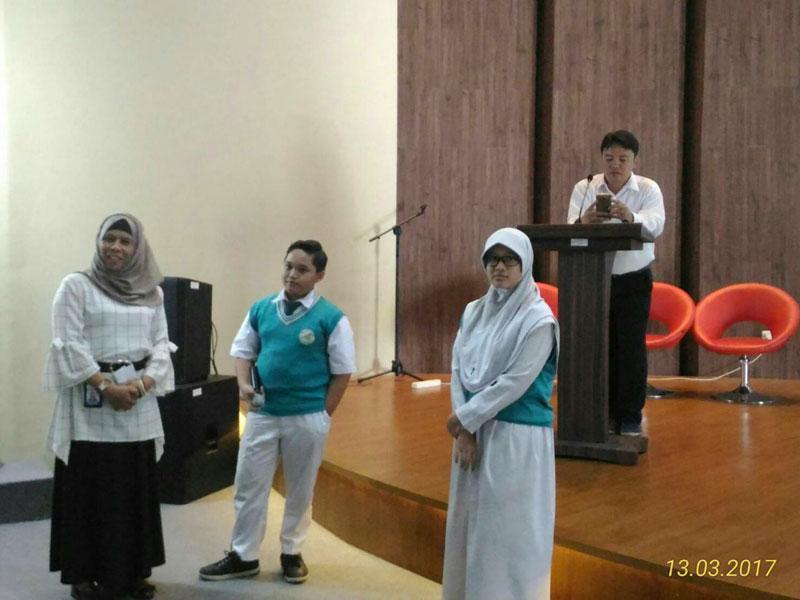 Kunjungan Siswa/i SMP Islam Al Syukro Universal ke BPPT