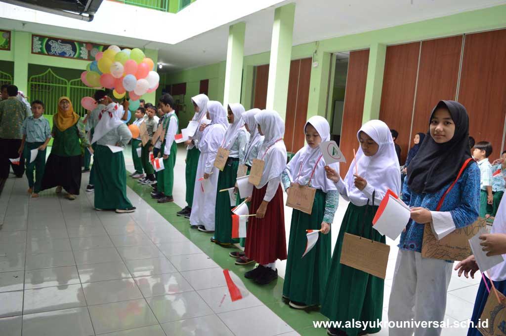Siswa Baru SMP Islam Al Syukro Ikuti MPLS