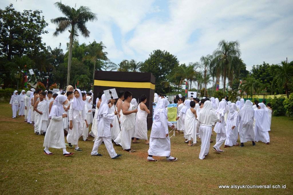 Perguruan Islam Al Syukro Universal Selenggarakan Manasik Haji 2017