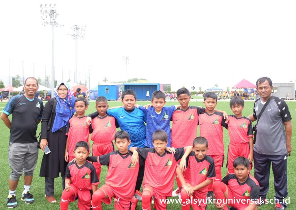Tim SD Islam Al Syukro U-12 Ikuti KL Cup 2019