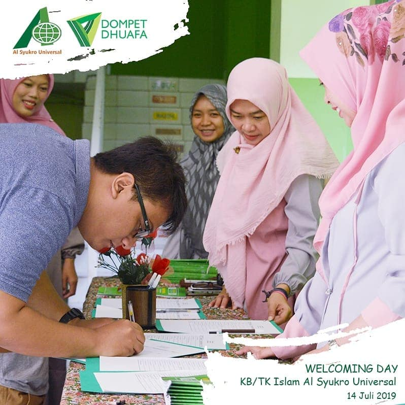 WELCOME DAY AL SYUKRO UNIVERSAL