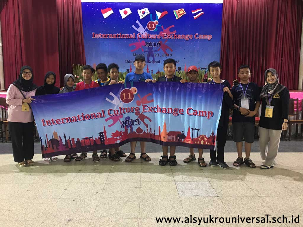 INTERNATIONAL CULTURE EXCHANGE CAMP 2019