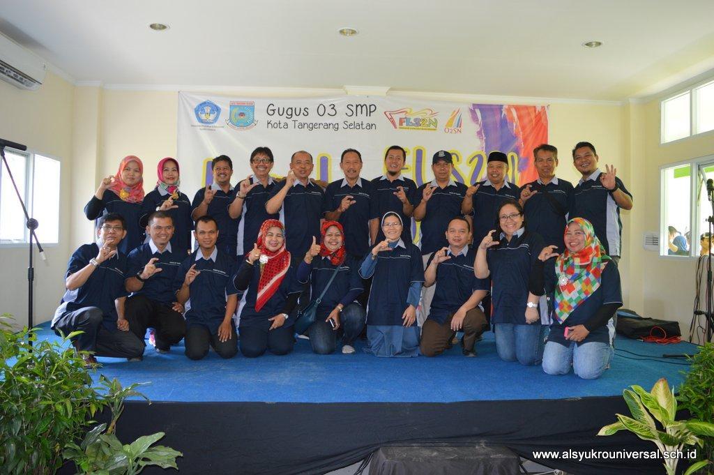 SMP Islam Al Syukro Universal Tuan Rumah FLS2N dan O2SN Gugus 03 Tangsel